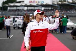 Marcus Ericsson, Sauber on the drivers parade