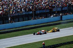 Ayrton Senna, McLaren, Nelson Piquet, Lotus