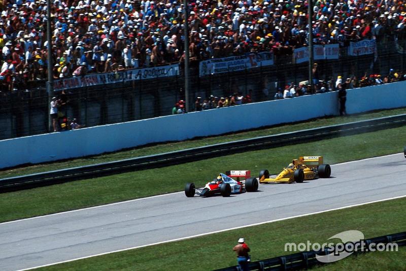 Ruim para Piquet: Nelson Piquet iniciava aquele que foi seu pior ano na F1 em termos de performance. Com o fraco motor Judd, ele se retirou após 10 voltas. Ele terminou o ano com 12 pontos e sem conseguir se classificar na Bélgica.