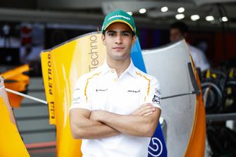 Il nuovo collaudatore e pilota sviluppatore McLaren, Sergio Sette Camara