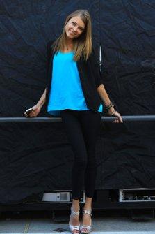 Dasha Kapustina, novia de Fernando Alonso