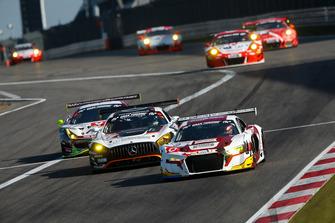 #9 Phoenix Racing Audi R8 LMS: Oscar Andres Tunjo, Max Hofer, Kris Richard