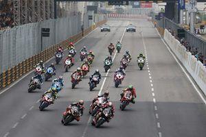 Start zum Motorrad-Grand-Prix in Macau 2018