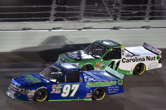 Jesse Little, JJL Motorsports, Ford F-150 SkuttleTight and Ben Rhodes, ThorSport Racing, Ford F-150 The Carolina Nut Co.
