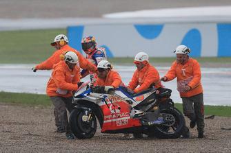 Jack Miller, Pramac Racing, dopo la caduta