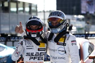 Pole sitter Lucas Auer, Mercedes-AMG Team HWA and Gary Paffett, Mercedes-AMG Team HWA