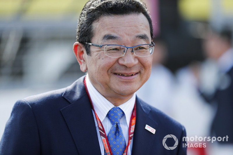 Takahiro Hachigo, Chief Executive Officer, Honda