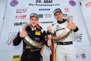 Race winners #13 Autoarena HTP Motorsport Mercedes-AMG GT3: Patrick Assenheimer, Dominik Baumann