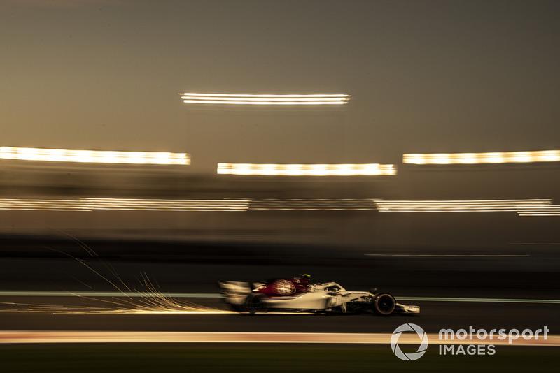 Funkenflug: Marcus Ericsson, Sauber C37