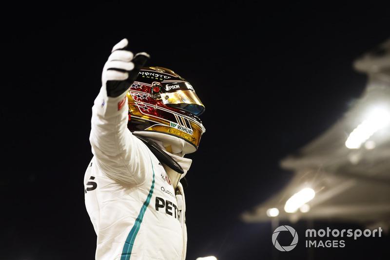 Pole número 83º, en Abu Dhabi. La undécima de 2018