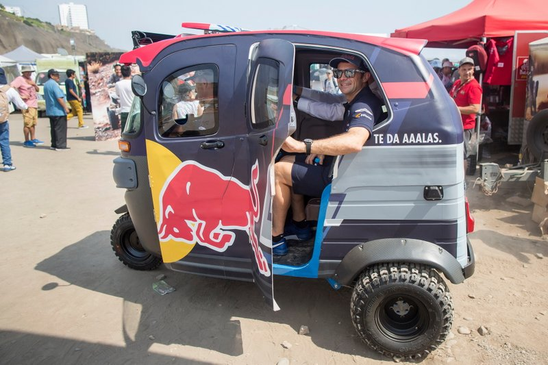 #304 X-Raid Mini JCW Team: Stéphane Peterhansel, #300 X-Raid Mini JCW Team: Carlos Sainz, #308 X-Raid Mini JCW Team: Cyril Despres