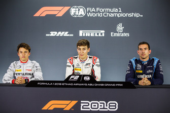 Nyck De Vries, PREMA Racing, George Russell, ART Grand Prix, Nicholas Latifi, DAMS