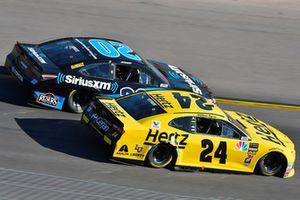 William Byron, Hendrick Motorsports, Chevrolet Camaro Hertz, Erik Jones, Joe Gibbs Racing, Toyota Camry Sirius XM