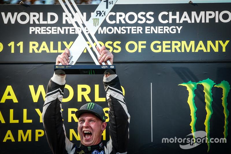 Podio: Johan Kristoffersson, PSRX Volkswagen Sweden