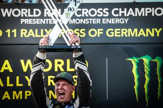 Podium: Johan Kristoffersson, PSRX Volkswagen Sweden