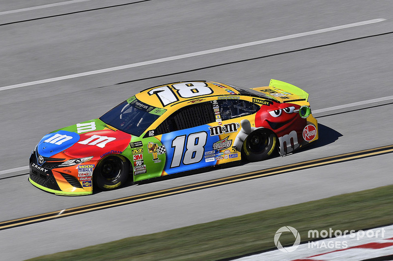 9. Kyle Busch, Joe Gibbs Racing, Toyota Camry M&M's