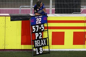 Alex Lowes, Pata Yamaha pit tabelası