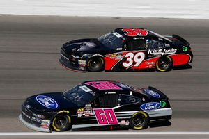 Ty Majeski, Roush Fenway Racing, Ford Mustang Ford and Ryan Sieg, RSS Racing, Chevrolet Camaro RSS Racing