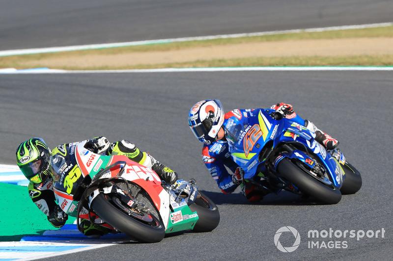 Cal Crutchlow, Team LCR Honda, Alex Rins, Team Suzuki MotoGP