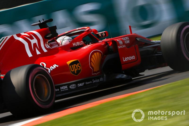 4: Sebastian Vettel, Ferrari SF71H, 1'14.970