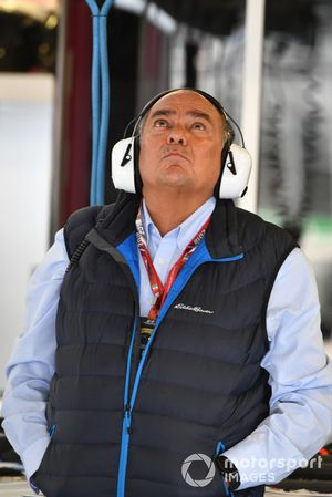 Antonio Pérez Garibay, padre de Sergio Pérez, Racing Point Force India
