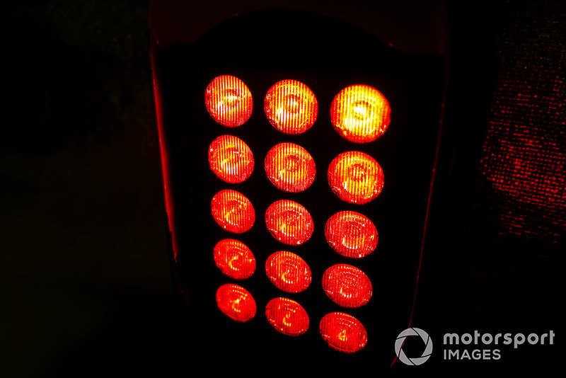 Rear light detail