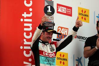 Podio: Jean-Karl Vernay, Leopard Lukoil Team Audi RS3 LMS TCR