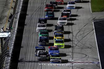 Sheldon Creed, GMS Racing, Chevrolet Silverado AM Ortega/United Rentals, Justin Haley, GMS Racing, Chevrolet Silverado Fraternal Order Of Eagles