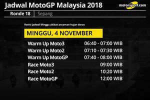 Jadwal baru MotoGP Malaysia 2018