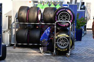 Scuderia Toro Rosso and Pirelli tyres