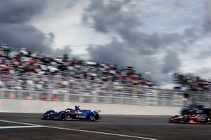 Robin Frijns, Envision Virgin Racing, Audi e-tron FE07, Oliver Rowland, Nissan e.Dams, Nissan IMO2