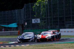 Alex Albon, AF Corse Ferrari 488 GT3 Evo, Nico Müller, Team Rosberg, Audi R8 LMS GT3