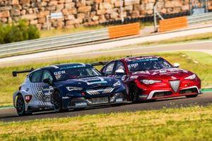 Rodrigo Baptista, Romeo Ferraris-M1RA, Alfa Romeo Giulia ETCR, Jordi Gené, Zengő Motorsport X CUPRA, Cupra e-Racer