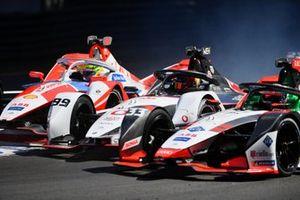 Alexander Sims, Mahindra Racing, M7Electro, Pascal Wehrlein, TAG Heuer Porsche, Porsche 99X Electric, Rene Rast, Audi Sport ABT Schaeffler, Audi e-tron FE07