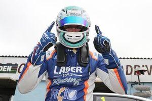 Polesitter Ashley Sutton, Laser Tools Racing Infiniti Q50