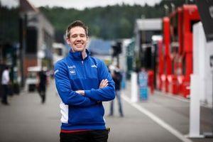 Mike Caulfield, Strategy Engineer, Haas F1 team
