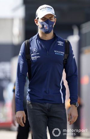 Nicholas Latifi, Williams arriving