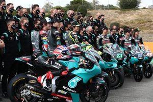 Gruppenfoto: Petronas-Teams 2021 in MotoGP, Moto2 und Moto3
