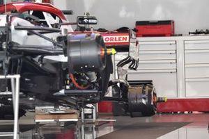 Alfa Romeo Racing C41 rear brake duct detail