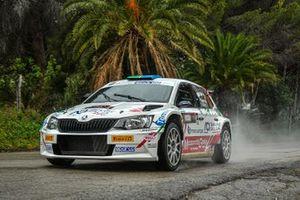 Andrea Mazzocchi, Silvia Gallotti, Leonessa Corse, Skoda Fabia Rally2 Evo