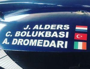 #11 Eurointernational - Joey Alders, Cem Bölükbaşı, Andrea Dromedari