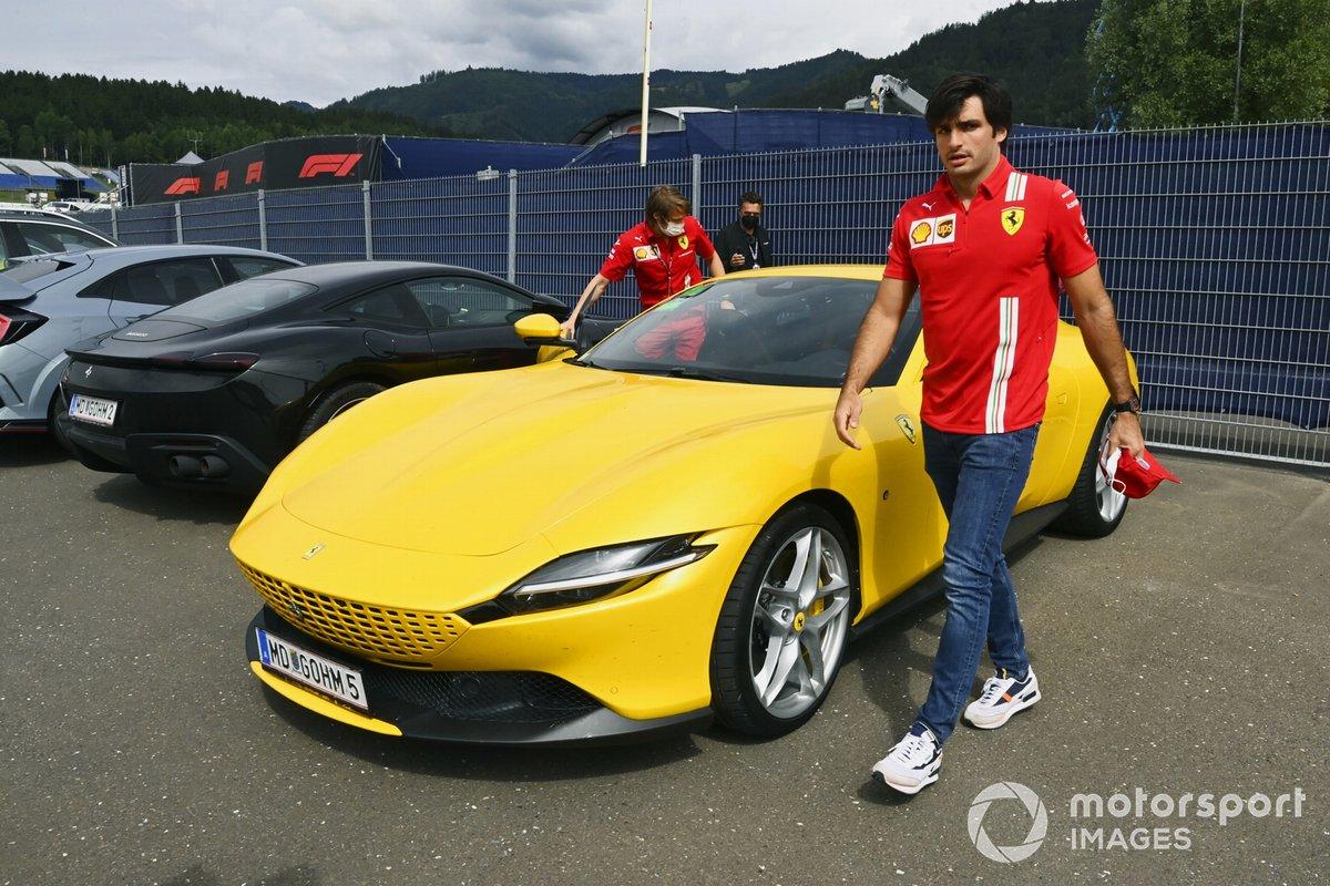 Carlos Sainz,, Ferrari