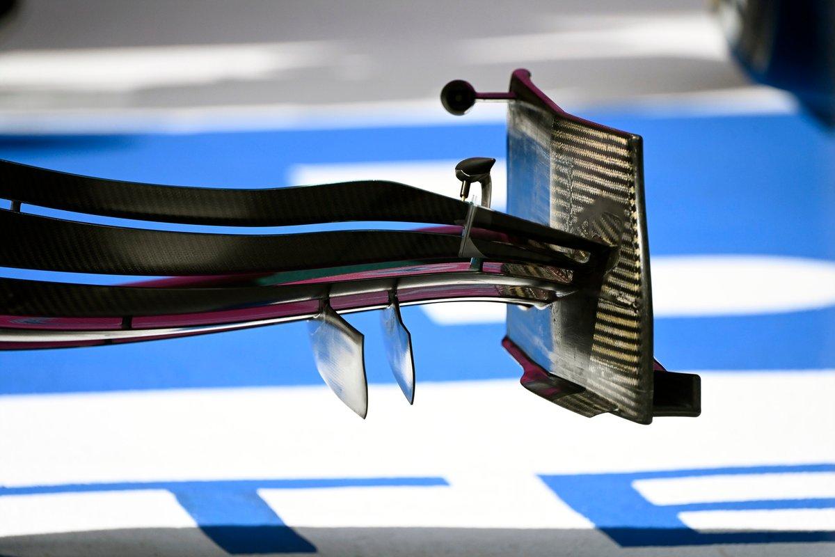 Детали переднего антикрыла Aston Martin AMR21
