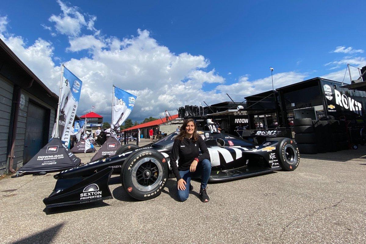 Tatiana Calderón, AJ Foyt Racing