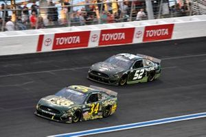 Michael McDowell, Front Row Motorsports, Ford Mustang Fr8 Auctions, Josh Bilicki, Rick Ware Racing, Ford Mustang US Army Military Salutes