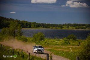 Hubert Laskowski, Adam Jaros, Peugeot 208 Rally4