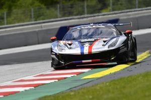 #88 AF Corse, Ferrari 488 GTE Evo: Alessio Rovera, François Perrodo, Emmanuel Collard