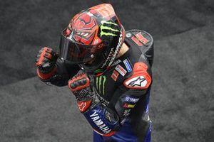 Third place Fabio Quartararo, Yamaha Factory Racing