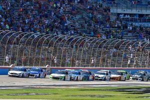 Chris Buescher, Roush Fenway Racing, Ford Mustang Fastenal, Tyler Reddick, Richard Childress Racing, Chevrolet Camaro iCashautos/I Am Second