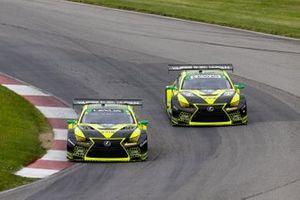 #12 VasserSullivan Lexus RC F GT3, GTD: Frankie Montecalvo, Zach Veach, #14 VasserSullivan Lexus RC F GT3, GTD: Jack Hawksworth, Aaron Telitz